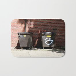 happy dumpster. Bath Mat