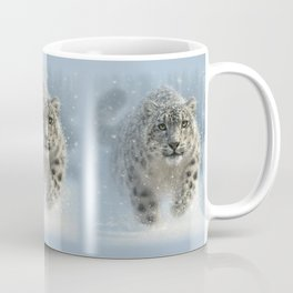 Snow Leopard - Snow Ghost Coffee Mug