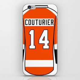 Sean Couturier Jersey iPhone Skin