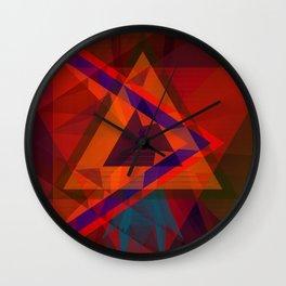 hearts & more - Triangle head Wall Clock