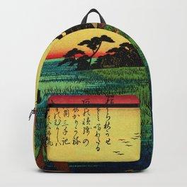 Descending Geese at Haneda Japan Backpack