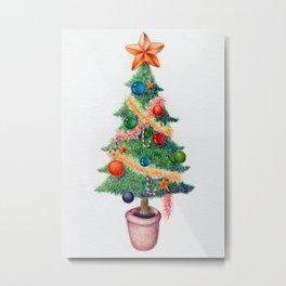 ChristmasTree Metal Print