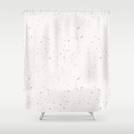 Colorful Ink Splatter 0015 Shower Curtain