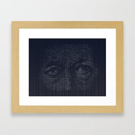 Leviathan: Jonah in the Belly of the Fish Framed Art Print