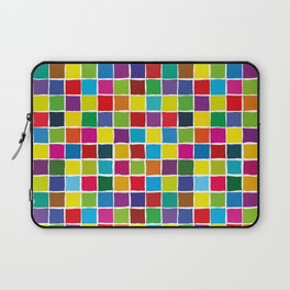 Colorful color squares Laptop Sleeve