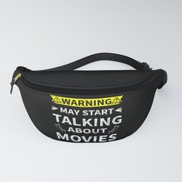 Talking About Movies Movie Lover Gift Fanny Pack