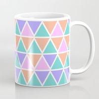 geo Mugs featuring GEO by Isabella Salamone