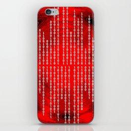 Binary Code iPhone Skin