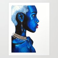 Adaeze pt. 1 Art Print