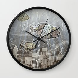 Deep in the Ocean Wall Clock