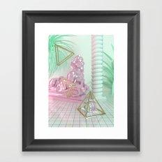 Soothing 3D Feeling Framed Art Print