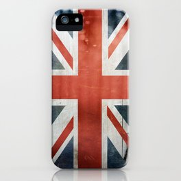 Great Britain, Union Jack iPhone Case