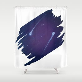 Star Crossed Shower Curtain