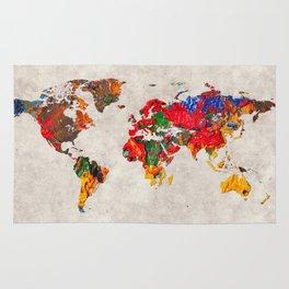 World Map 26 Rug