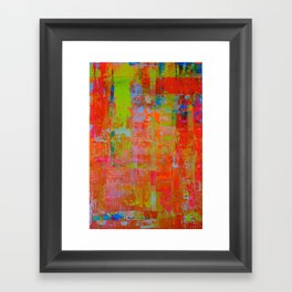Alegria 2 - Diptych Framed Art Print