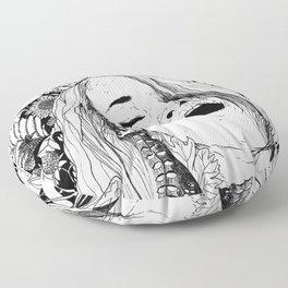 Floral Orgasm Floor Pillow