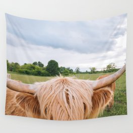 Highland Cow - Longhorns Wall Tapestry