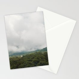 With the clouds. Stationery Cards