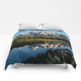 Grand Teton Sunrise Comforters