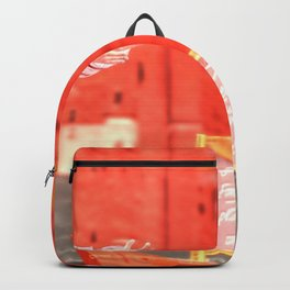 SquaRed: Champagne Backpack