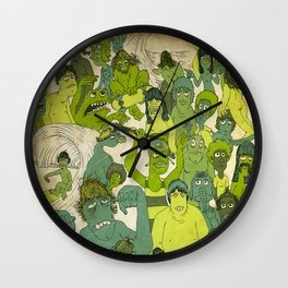 Party Hardy Wall Clock