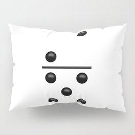 White Domino / Domino Blanco Pillow Sham
