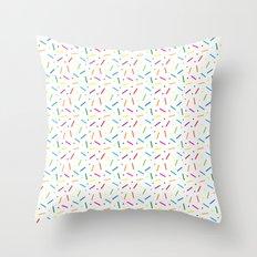 Jelly Bean Colour Throw Pillow