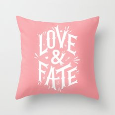 Love & Fate Throw Pillow