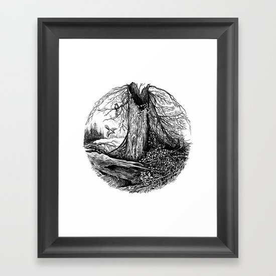 Old Tree Framed Art Print
