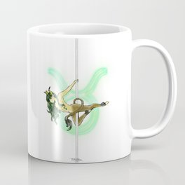 Taurus Zodiac Pole Dancer Coffee Mug