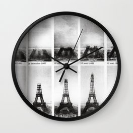 La Tour Eiffel #society6 #home Wall Clock