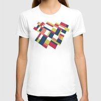 matisse T-shirts featuring Map Matisse Stretched by Project M