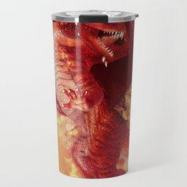 Red Dragon Travel Mug
