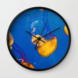 Orange Jellies Wall Clock