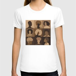 FOR BROWN GIRLS COLLECTION COLLAGE T-shirt
