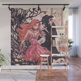 Halloween Temptation Wall Mural