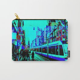 Amsterdam Evening in the Rain Pixelart Carry-All Pouch