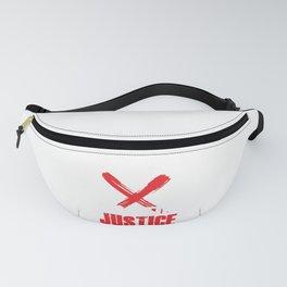 Cops Justice Police Brutality Police Violence Gift Fanny Pack