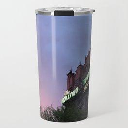 Sunset over Tower Travel Mug