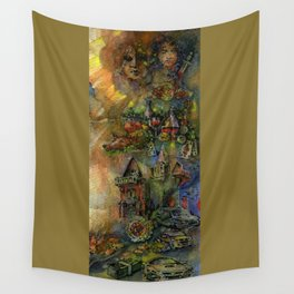 Worldly wealth Wall Tapestry