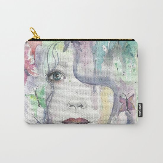 Floral Bohemian Carry-All Pouch