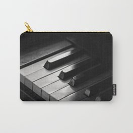 Black & White Piano Keys Carry-All Pouch