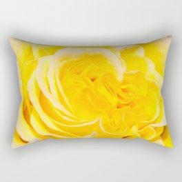 A Touch of Yellow #Rose #1 #art #society6 Rectangular Pillow