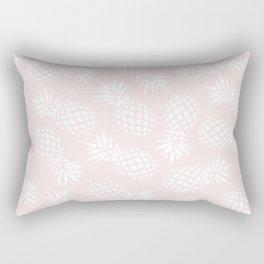 Pineapple pattern on pink 022 Rectangular Pillow