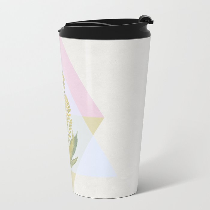 Botanical vibes 09 Metal Travel Mug