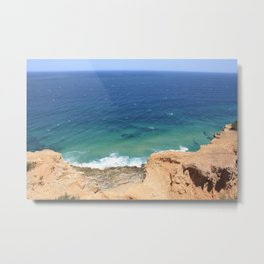 Newcastle cliffs Metal Print