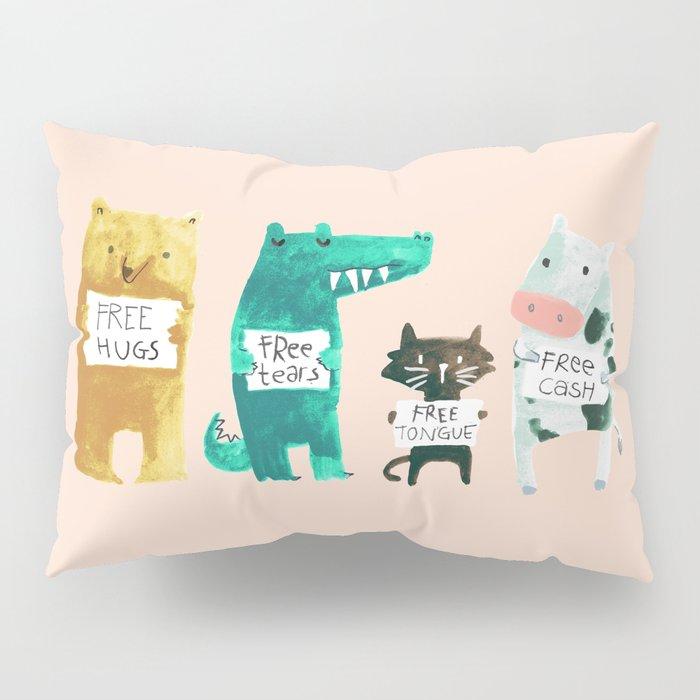 Animal idioms - its a free world Pillow Sham