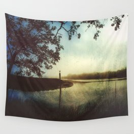 Moody Gulf Coast Morning Wall Tapestry
