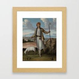 Albanian Herdsman, Jean Baptiste Vanmour, 1700 - 1737 Framed Art Print