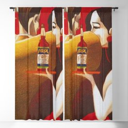 Aperol Alcohol Aperitif Spritz Vintage Advertising Poster Blackout Curtain